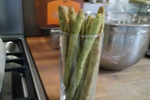 Gressins parmesan basilic Thermomix par Barb76