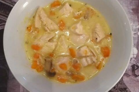 Blanquette de poulet Thermomix par Laeti. 76