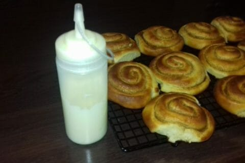 Cinnamon roll Thermomix par delloul