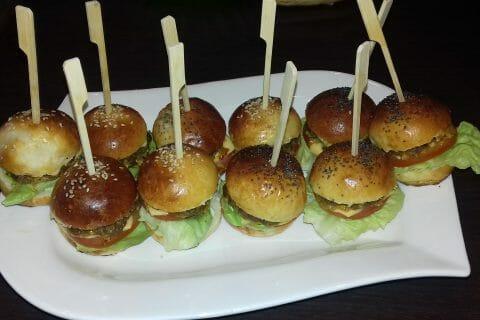 Mini burgers au Thermomix