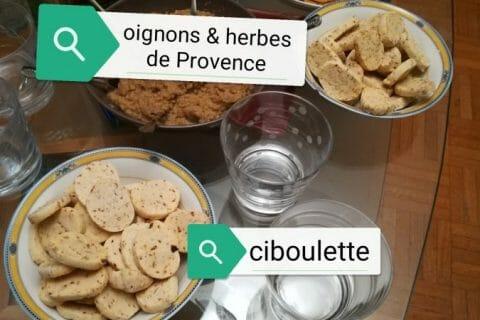 Biscuits apéritif crème et oignon Thermomix par ricore92