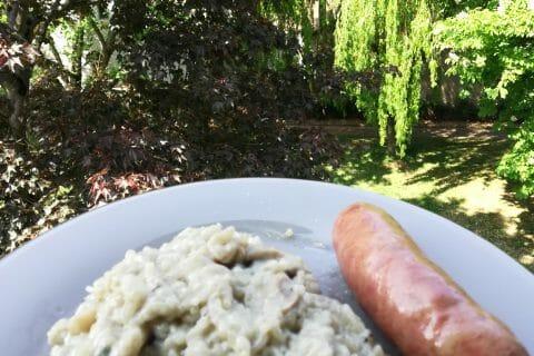 Risotto au gorgonzola et champignons au Thermomix