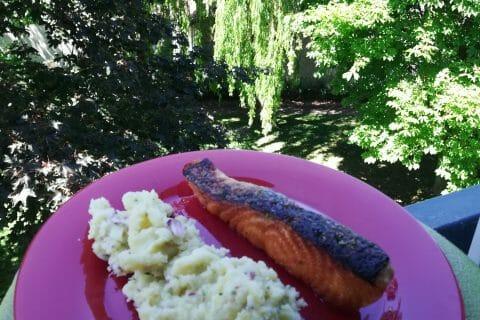 Ecrasé de pommes de terre et saumon au Thermomix