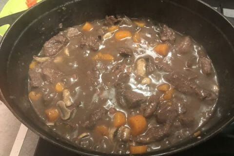 Boeuf bourguignon Thermomix par mix2tou