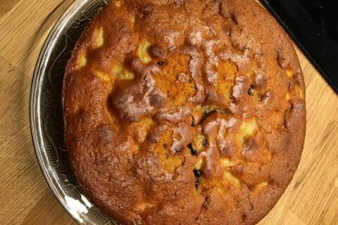 Gâteau des femmes pressées poires et chocolat Thermomix par geraldine37