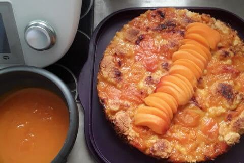 Crumble aux abricots Thermomix par Chacha07
