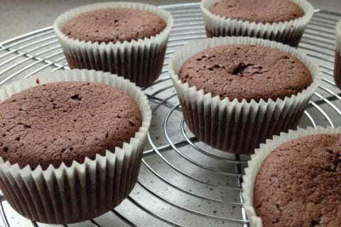 Muffins aux deux chocolats Thermomix par MA Rie