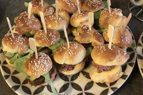 Mini burgers Thermomix par clemm23