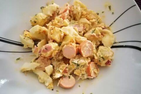 Salade strasbourgeoise Thermomix par arno2767