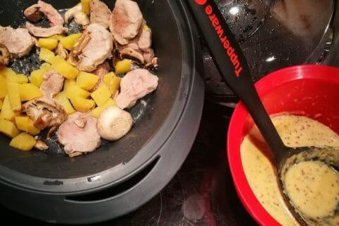 Filet mignon à la moutarde Thermomix par arno2767