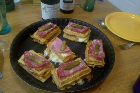 Gaufres raclette au Thermomix