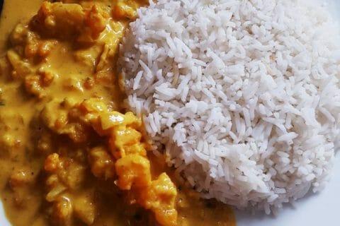 Curry de crevettes au lait de coco Thermomix par Maely_Ylhan