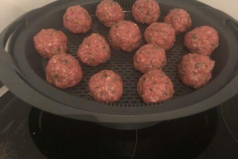 Boulettes de viandes à la sauce tomate Thermomix par paulinerib