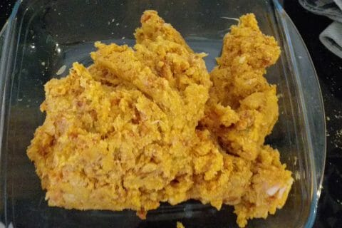 Boulettes de poulet au chorizo au Thermomix