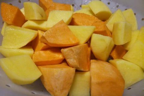 Purée de pommes de terre et patates douces Thermomix par djinny