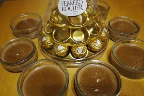 Crème dessert au Ferrero Rocher Thermomix par djinny