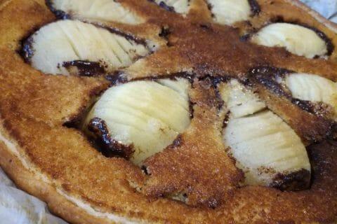 Tarte poires et chocolat Thermomix par djinny