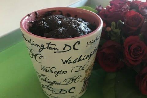 Mug cake poires chocolat au Thermomix