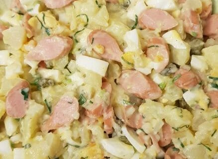 Salade strasbourgeoise Thermomix par Ek64