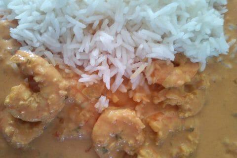 Curry de crevettes au lait de coco Thermomix par Coco