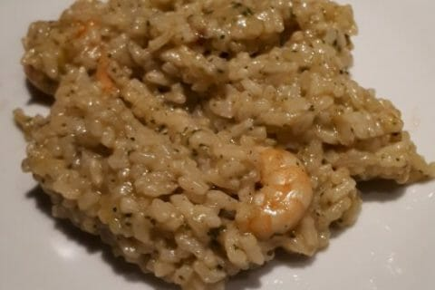 Risotto crevettes et curry au Thermomix