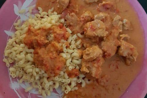 Sauté de porc au curry Thermomix par kikinou781