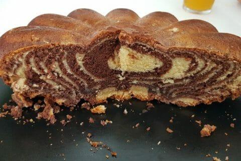 Gâteau zébré Thermomix par Flopopo
