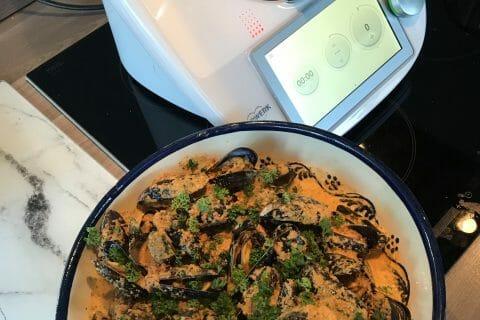 Moules sauce chorizo au Thermomix