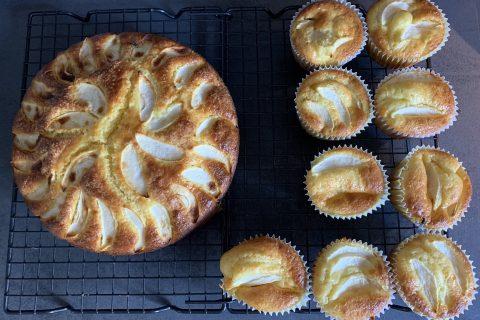 Gâteau aux pommes et mascarpone au Thermomix