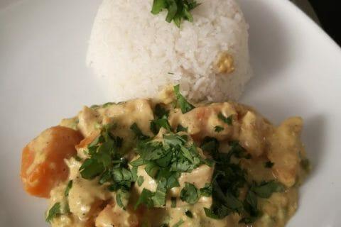 Curry de poulet aux patates douces Thermomix par cuistodenfer