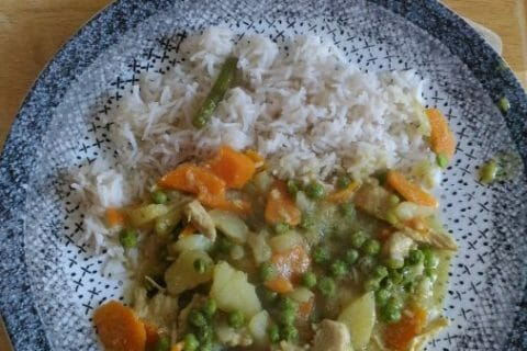Poulet Thaï au curry Thermomix par Turquoise78