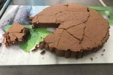Gâteau macaroné au chocolat Thermomix par Doreentyki05