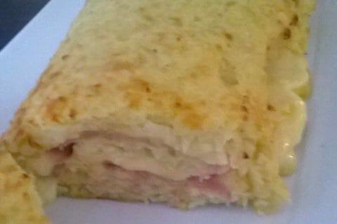 Roulé de pommes de terre, jambon et reblochon Thermomix par Marysoux