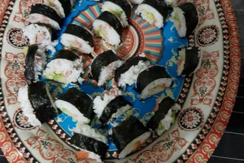Sushis Thermomix par zohra57280