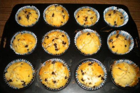 Muffins aux pépites de chocolat Thermomix par orchidee10
