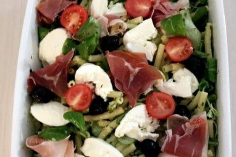 Salade de penne à l'italienne Thermomix par Lyvia-88