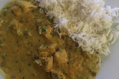 Curry de poulet aux patates douces Thermomix par PoireAuChoc