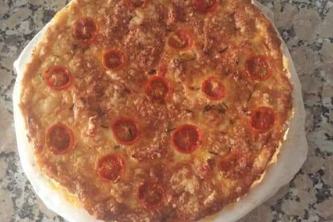 Tarte au thon, tomate et moutarde Thermomix par Hind_M_