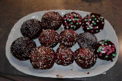 Petits pains d'épices de Noël au chocolat Thermomix par Kel Ly