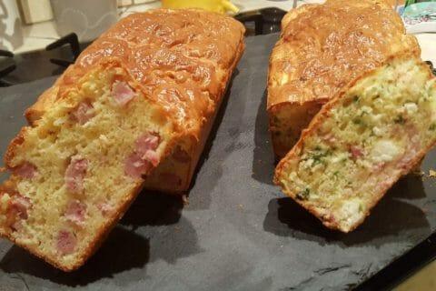 Cake salé jambon fromage et olives Thermomix par Didinou