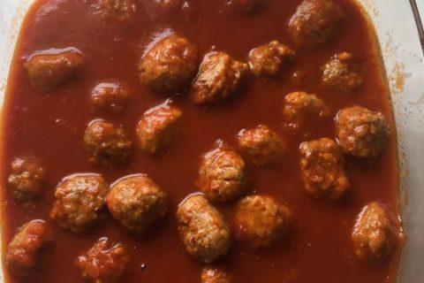 Boulettes de viandes à la sauce tomate Thermomix par cocofab