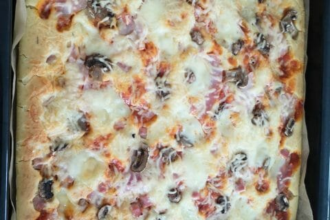Pizza liquide au Thermomix