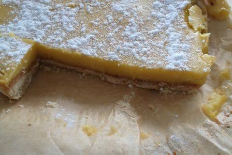 Carrés au citron au Thermomix