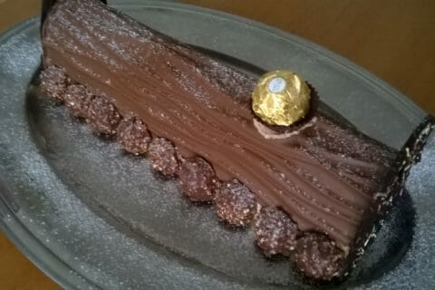 Bûche Ferrero Rocher Thermomix par Sandrine1405
