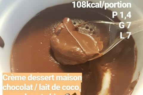 Crème dessert choco-coco Thermomix par Anne_8