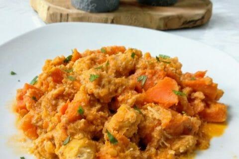 Curry de poulet aux patates douces Thermomix par Bibiz