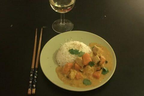 Curry de poulet aux patates douces Thermomix par Celine_24