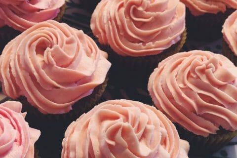 Cupcakes à la framboise Thermomix par Enyluap