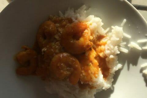 Curry de crevettes au lait de coco Thermomix par hadam