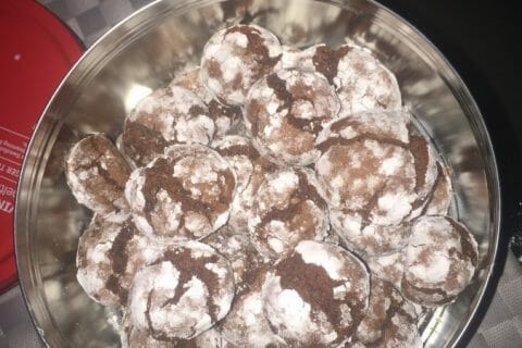 Craquelés au chocolat Thermomix par hadam
